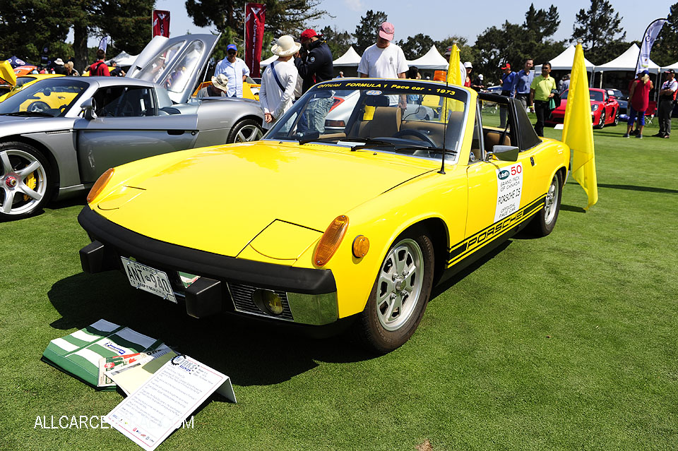 Porsche 914 1973 F1 Pace car  Porsche Works Reunion 2017