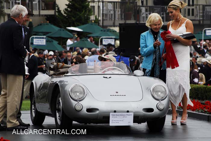 Porsche 550 Spyder 1956 2nd Preservation