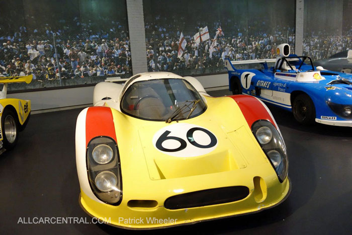 Porsche 908 LH 1968 Musee National de l'automobile 2015 Patrick Wheeler Photo