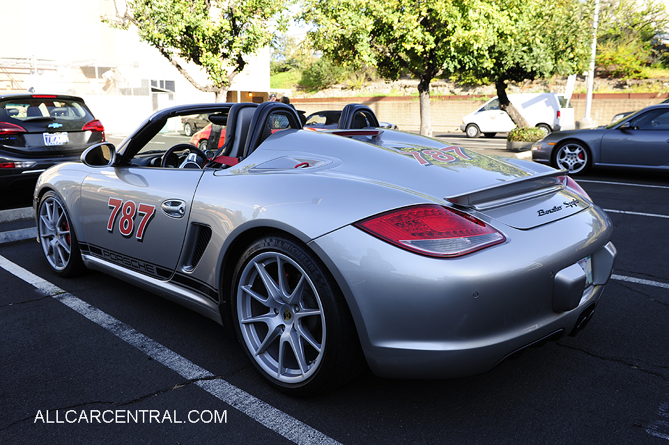 Porsche Boxster S Spyder sn-WPOCB2A87BS745701 2011	Walnut Creek California   2017